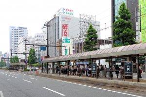 Okayama Ekimae Station, 1 Honmachi, Kita-ku, Okayama-shi, Okayama-ken 700-0901, Japan