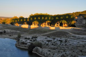 Photo taken at D981, 30210 Vers-Pont-du-Gard, France with NIKON COOLPIX P7000