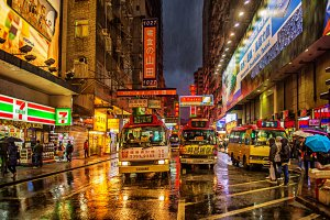 Photo taken at 93 Tung Choi Street, Mong Kok, Hong Kong with NIKON D4