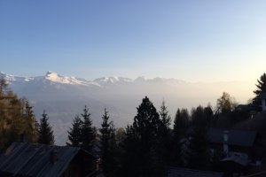 Photo taken at Chemin de Tsamandon 220, 1997 Haute-Nendaz, Switzerland with Apple iPhone 6 Plus