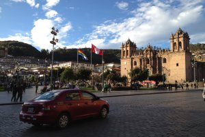 Photo taken at Portal de Comercio 117, Cusco, Peru with Apple iPhone 4S