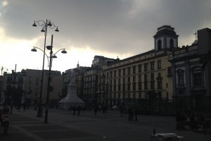 Photo taken at Via dei Tribunali, 100, 80138 Napoli, Italy with Apple iPhone 4S
