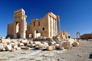 Decumanus, Palmyra, Syria