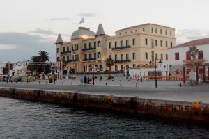 Photo taken at Epar.Od. Spetson-Moni Agion Anargiron, Spetses 180 50, Greece with bq Aquaris E5 HD