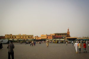 Photo taken at Rue Moulay Ismaïl, Marrakech, Morocco with Canon PowerShot A70
