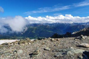 Horli-Hitta, Klettersteig Eggishorn, Fiesch, Goms, Wallis, 3994, Switzerland