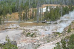 Artist's Paint Pots Trail, Yellowstone National Park, WY 82190, USA