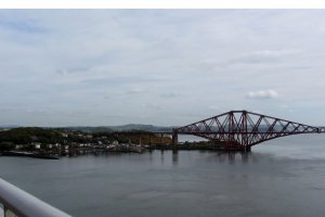Photo taken at Forth Road Bridge, United Kingdom with Canon PowerShot SX230 HS