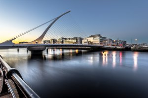Photo taken at Sir John Rogerson's Quay, Dublin, Ireland with SONY ILCE-7