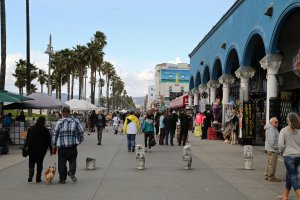 Photo taken at 1500-1598 Ocean Front Walk, Venice, CA 90291, USA with Canon EOS 6D