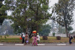 Photo taken at Avenue de Independance, Gisenyi, Rwanda with FUJIFILM FinePix X100