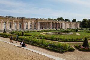 Grand Trianon, Cour du Grand Trianon, Notre-Dame, Versailles, Yvelines, Ile-de-France, Metropolitan France, 78000, France