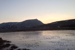 Photo taken at Turistveien 101, 9600 Hammerfest, Norway with Apple iPhone 5