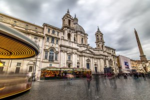 Photo taken at Piazza Navona, 93-103, 00186 Roma, Italy with SONY ILCE-7