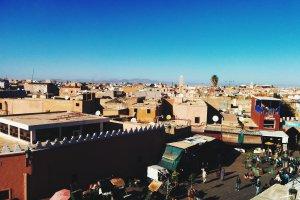 Rue des Banques, Marrakech, Morocco