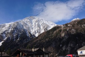 Photo taken at Strada della Funivia, 2, 11013 Courmayeur AO, Italy with Apple iPhone 5