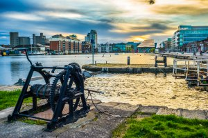Photo taken at Grand Canal Street Upper, Dublin, Ireland with SONY ILCE-7
