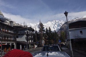Photo taken at Via Regionale, 42, 11013 Courmayeur AO, Italy with Apple iPhone 5