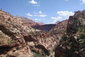 Canyon Overlook, Zion Lodge, Washington County, Utah, USA