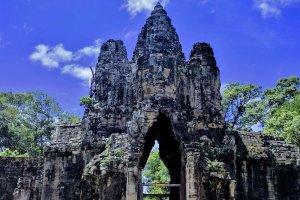 South Gate Bridge, Krong Siem Reap, Cambodia