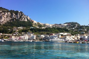 Photo taken at Via Cristoforo Colombo, 63, 80073 Capri NA, Italy with Apple iPhone 4