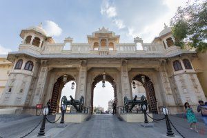Photo taken at City Palace Rd, Silawatwari, Udaipur, Rajasthan 313001, India with Canon EOS 6D