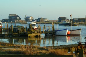 Southwold Harbour, Southwold, Suffolk IP18, UK
