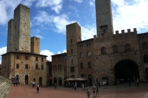 Photo taken at Via S. Matteo, 2, 53037 San Gimignano SI, Italy with Apple iPhone 6