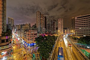 West Kowloon Corridor, Yau Ma Tei, Hong Kong