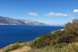 Lake Hawea lookout, Makarora Lake Hawea Road, Hawea, Queenstown-Lakes District, Otago, New Zealand