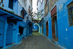 Photo taken at Rue Bin Souaki, Chefchaouen, Morocco with NIKON D90