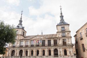 Fuente Tres Aguas, Plaza del Ayuntamiento, Santa Bárbara, Toledo, Castile-La Mancha, 45002, Spain