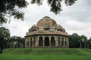 Photo taken at Lodhi Road, Lodhi Gardens, Lodhi Estate, New Delhi, Delhi 110003, India with Canon PowerShot A650 IS