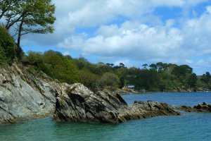 Photo taken at South West Coast Path, Falmouth, Cornwall TR11, UK with Panasonic DMC-TZ10