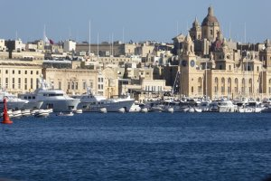 Photo taken at Xatt Lascaris, Il-Belt Valletta, Malta with Panasonic DMC-TZ61