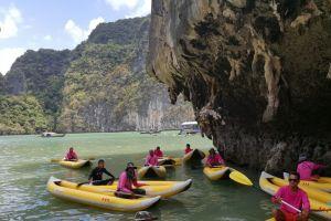 Hong Island kayaking, Ban Hin Rom, Thailand