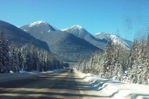 Photo taken at Trans-Canada Hwy, Golden, BC V0A, Canada with LG Electronics LG-D393