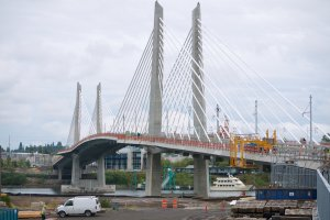 Photo taken at Tilikum Crossing, Portland, OR 97202, USA with Panasonic DMC-GF2