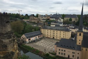 Photo taken at 10 Montée de Clausen, 1343 Luxembourg, Luxembourg with Apple iPhone 6