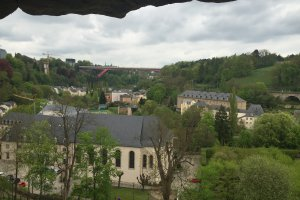 Photo taken at 71 Rue Mohrfels, 2158 Luxembourg, Luxembourg with Apple iPhone 6