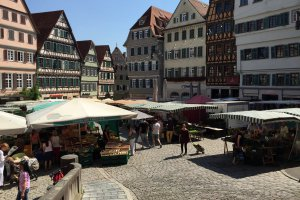 Photo taken at Am Markt 5, 72070 Tübingen, Germany with Apple iPhone 6