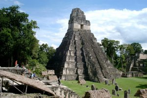 Gran Plaza, Tikal, Guatemala