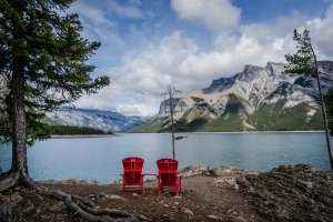 Banff National Park, Lake Minnewanka Trail, Improvement District No. 9, AB T0L, Canada