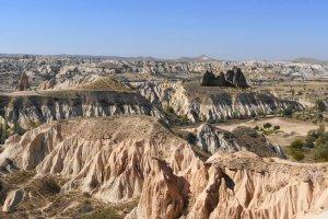 Kapadokya Yürüyüş Yolu, Çavuşin Köyü/Avanos/Nevşehir, Turkey
