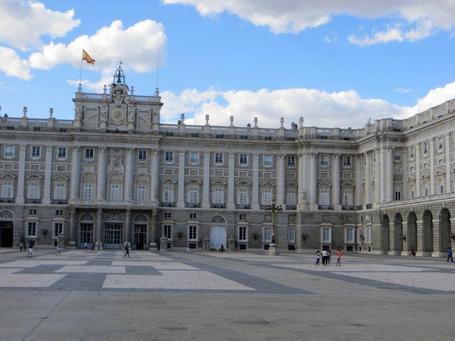 photo taken at plaza de la armer a 2 28013 madrid